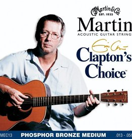 Martin Martin Clapton's Choice Phosphor Bronze Acoustic Guitar Strings, Medium