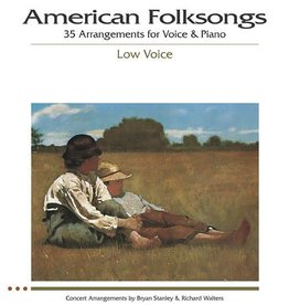 Hal Leonard American Folksongs - The Vocal Library, Low Voice