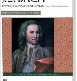 Alfred Inventions & Sinfonias (Two- & Three-Part Inventions) by J.S. Bach
