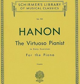 Hal Leonard Hanon - Virtuoso Pianist in 60 Exercises - Complete Schirmer's Library of Musical Classics Piano Method
