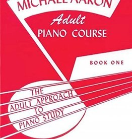 Alfred Michael Aaron Adult Piano Course - Book One