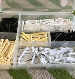 Allparts Allparts Plastic Bridge Pin Assortment - Single