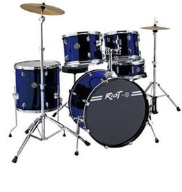 Dixon Dixon Riot Series Drum Set - Dark Blue