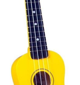 Diamond Head Diamond Head Soprano Ukulele w/Bag, Yellow, Soprano