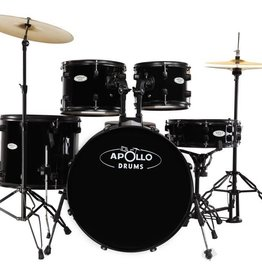 Apollo Apollo AP522 Drum Set - Black