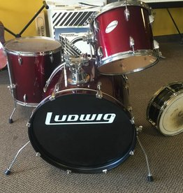 Ludwig (used) Ludwig Accent Drum Set - Wine Red