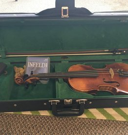 Stainer (used) Stainer Violin 4/4  w/ Hardshell Case + Bow, Rosin, Shoulder Rest, Extra Strings