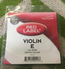 Super Sensitive Super-Sensitive Violin String (E) 4/4 Size Individual