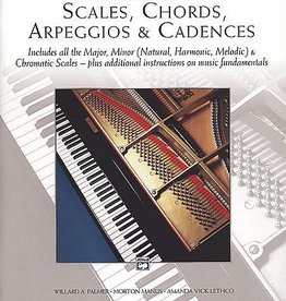 Alfred Scales, Chords, Arpeggios & Cadences - Complete Book