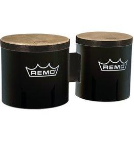 """Remo Remo Pre-Tuned Bongos - 6""""/7"""" Black"""