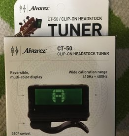 Alvarez Alvarez CT-50 Clip-On Headstock Tuner