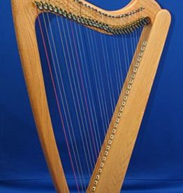 Kortier 31 String Kortier Electric Harp - Oak Wood