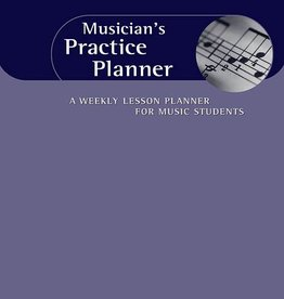 Hal Leonard Musician's Practice Planner: A Weekly Lesson Planner for Music Students