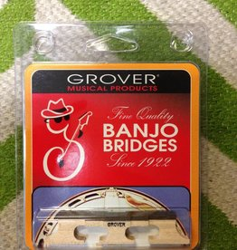 "Grover Grover Banjo Bridge - 5/8"" High Compensating"