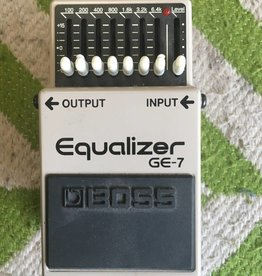 Boss (used) BOSS GE-7 Equalizer Pedal