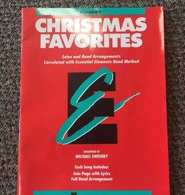 Hal Leonard (used) Essential Elements Christmas Favorites Bb Clarinet