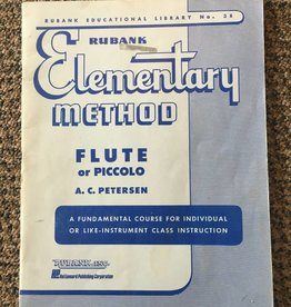 Hal Leonard (used) Rubank Elementary Method - Flute or Piccolo