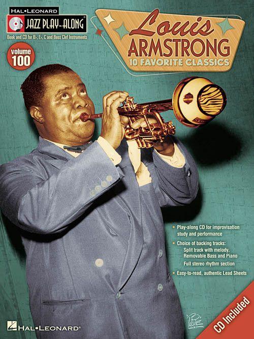 Hal Leonard Louis Armstrong Jazz Play-Along Volume 100 (Book/CD Pack)
