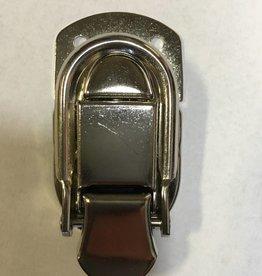 Allied Supply Allied Supply A666 Draw Bolt Case Latch - Medium, Nickel