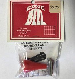 Eddie Bell Eddie Bell Guitar Chord Blank Stamp