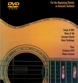 Hal Leonard Hal Leonard Guitar Method DVD For the Beginning Electric or Acoustic Guitarist with Tom Kolb