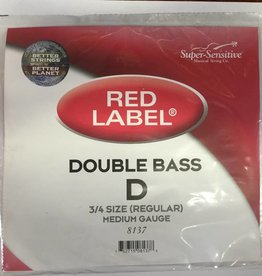 Super Sensitive Super-Sensitive Red Label Single Upright Bass String