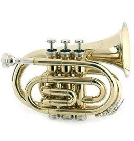 RS Berkeley RS Berkeley PT624 Elite Series Pocket Trumpet w/ Case - Clear Lacquer