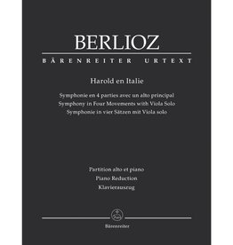 Barenreiter Berlioz, Hector - Harold in Italy Op 16 Score and Part for Viola and Piano - Arranged by MacDonald - Barenreiter Verlag URTEXT Edition