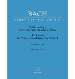 Barenreiter Bach, JS - 6 Sonatas and Partitas, BWV 1001-1006 - Solo Violin - edited by Günter Hauswald - Bärenreiter Verlag URTEXT