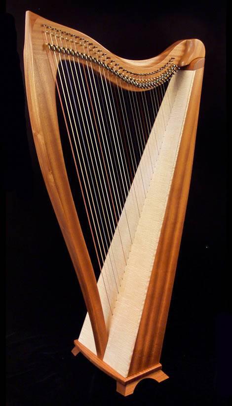Dusty Strings Dusty Strings FH36H Harp Package