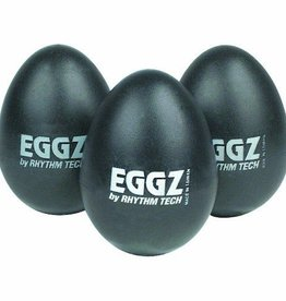 Rhythm Tech Rhythm Tech Eggz Shaker - Black, Single