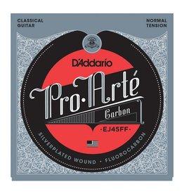 Daddario D'Addario EJ45FF Pro-Arté Carbon, Dynacore Basses, Normal Tension Classical Guitar Strings