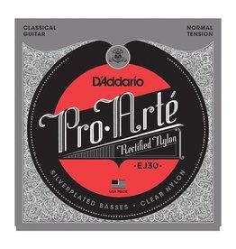 Daddario D'Addario EJ30 Pro-Arté Rectified Trebles, Normal Tension Classical Guitar Strings