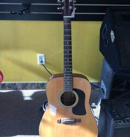 Washburn (used) Washburn Acoustic Guitar D-10N w/ gig bag & stand