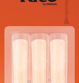 Daddario D'Addario Rico Bb Clarinet Reeds - 3 (Pack of 3)