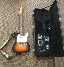 Fender (used) Fender Custom Telecaster w/ Biggsby, Extra Pickup, Strap + Hardshell Case