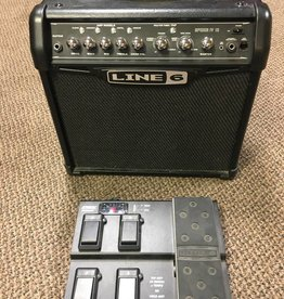 Line 6 (used) Line 6 Spider LV 15 1X8 Guitar Combo Amp