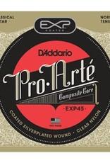 Daddario D'Addario EXP45 Coated Classical Guitar Strings - Normal Tension