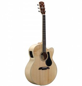 Alvarez Alvarez AJ80CE Artist 80 Series Jumbo Acoustic/Electric, Natural Finish