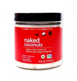 Naked Coconut Naked Coconut - Huile de Coco Vierge Biologique 454ml
