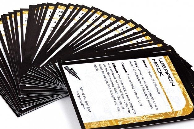 Hawk Wargames Dropzone Commander: PHR - Command Cards
