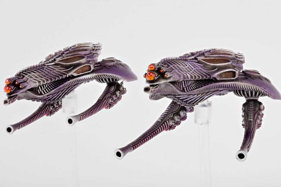 Hawk Wargames Dropzone Commander: Scourge - Reaver Heavy Gunships