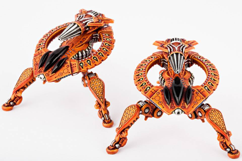 Hawk Wargames Dropzone Commander: Shaltari - Tarantula Battle Strider
