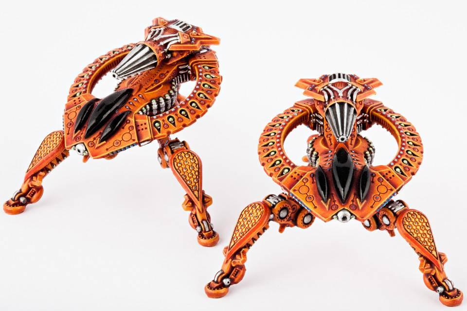 Hawk Wargames Dropzone Commander: Shaltari - Tarantula Battle Strider