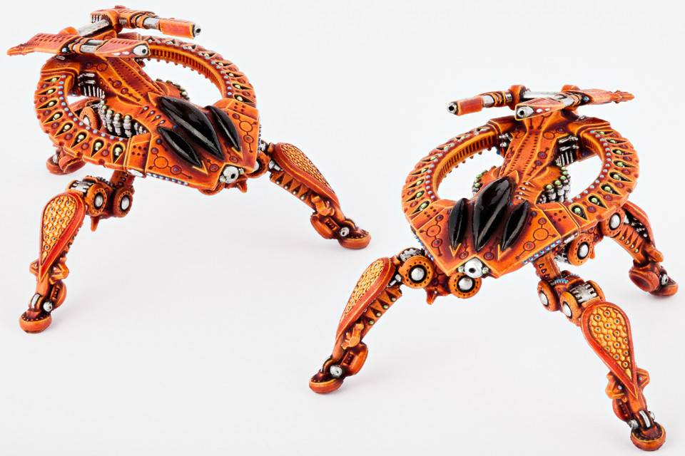 Hawk Wargames Dropzone Commander: Shaltari - Birdeater Battle Strider