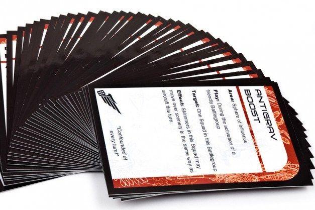 Hawk Wargames Dropzone Commander: Shaltari - Command Cards