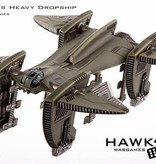 Hawk Wargames Dropzone Commander: UCM - Albatross Heavy Dropship