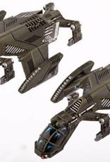 Hawk Wargames Dropzone Commander: UCM - Raven Type-B Light Dropships