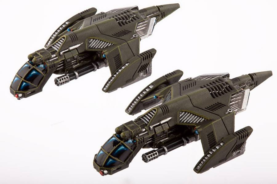 Hawk Wargames Dropzone Commander: UCM - Falcon Gunships