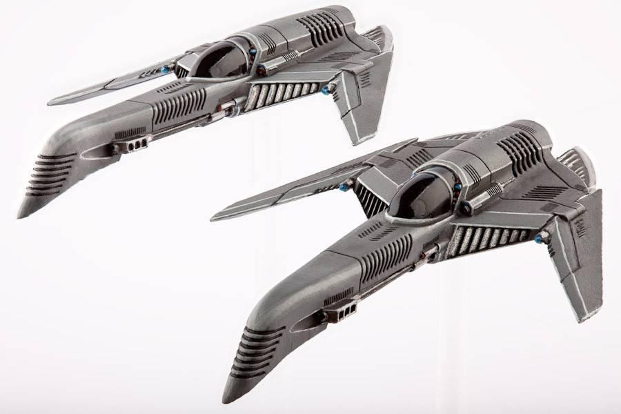 Hawk Wargames Dropzone Commander: UCM - Archangel Interceptors